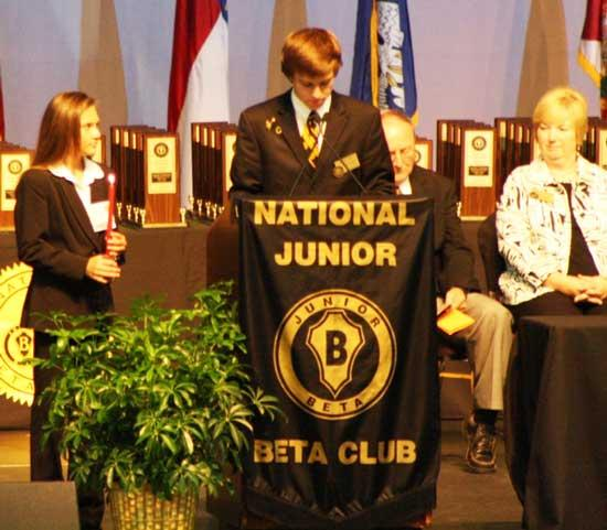 Cannon County Jr. Beta Sweeps Beta Nationals
