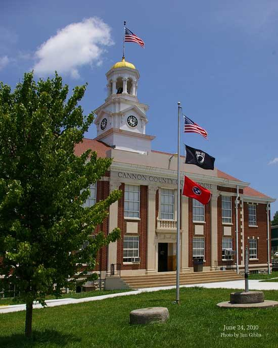 Cannon County Courthouse Captured In All Its Splendor