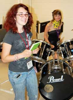 Woodbury Girls Rock Away In Music Camp