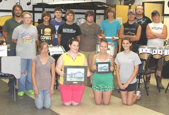 CCHS Band Selling Paintings Of Old Gym To Raise Funds