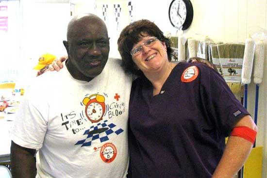 Woodbury Lions Club Dedicated To Red Cross