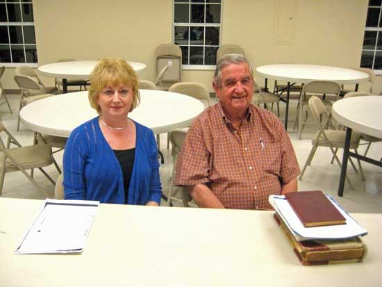 Local Officials Speak To Auburntown Historical Society
