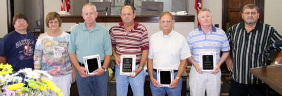 Citizens Honored For Service To Cannon County