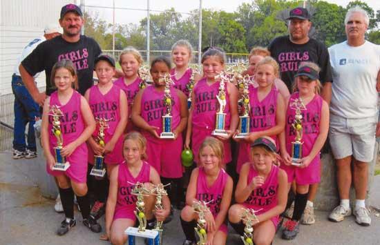 Girls Rule In CCDYA Softball