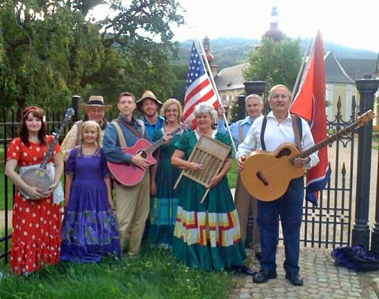 Syster Touring Czech Republic With Cripple Creek Cloggers