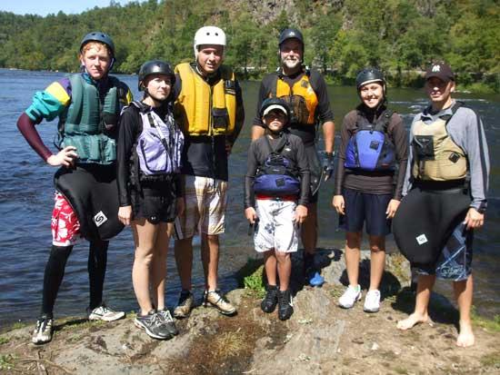 CCHS Outdoor Club Paddles The Hiwassee