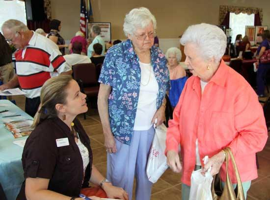 'Big Event' Takes Place At Senior Center