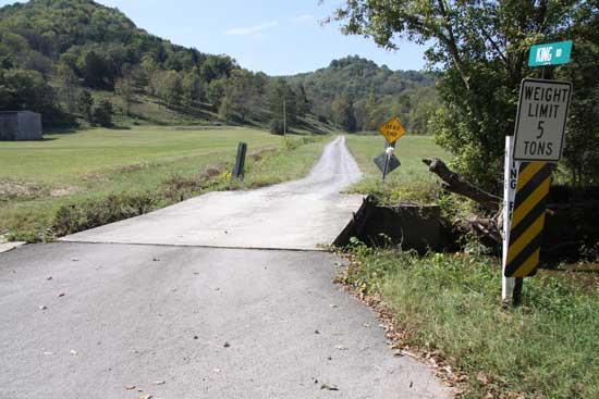 Auburntown Bridge Is Falling Down