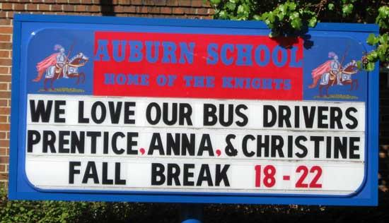 County Schools To Show Appreciation For School Bus Drivers