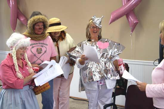 Don't Be A Cowardly Lion — Get A Mammogram!