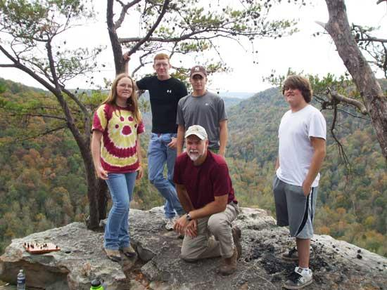 Cannon County Outdoor Club Hikes To Raven's Point