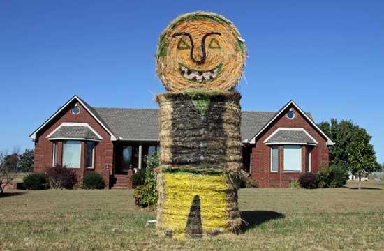 By George, It's A Unique Halloween Decoration
