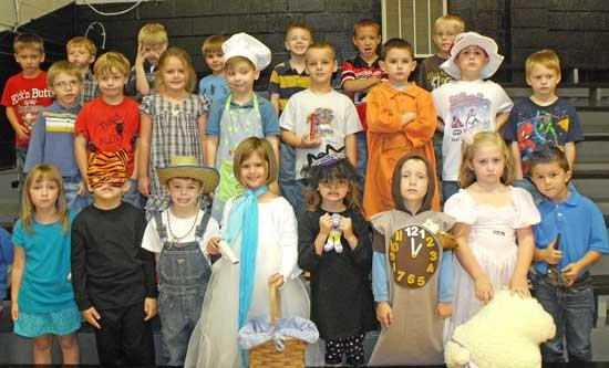 Nursery Rhymes Inspire Dress Up Day At West Side