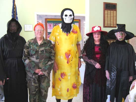 Senior Center Announces Costume Contest Winners