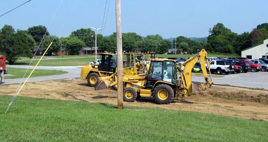 CCHS Parking Expansion Begins