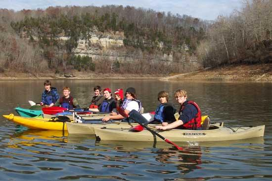 CCHS Outdoor Club Thanksgiving Paddle And Hike