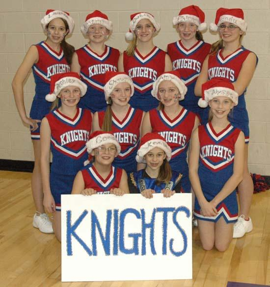 Auburn Cheerleaders Wish Everyone A Merry Christmas