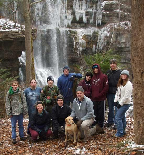 Cannon County High School Winter Hike