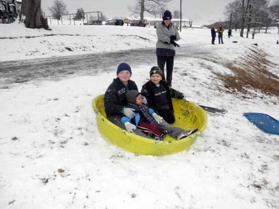 Winter Wonderland At Brown-Spurlock Park