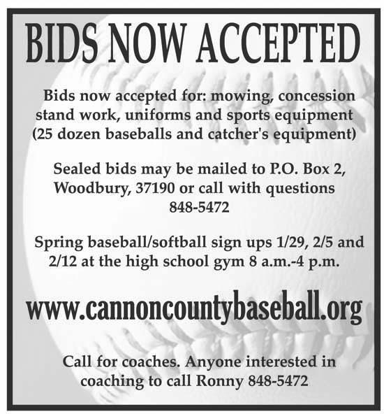 Baseball, Softball Signups Through Feb. 12