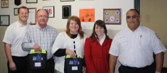 Cannon County Receives Life-Saving Defibrillators