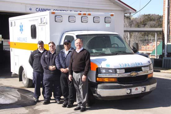 New Ambulance To Serve Cannon County Residents