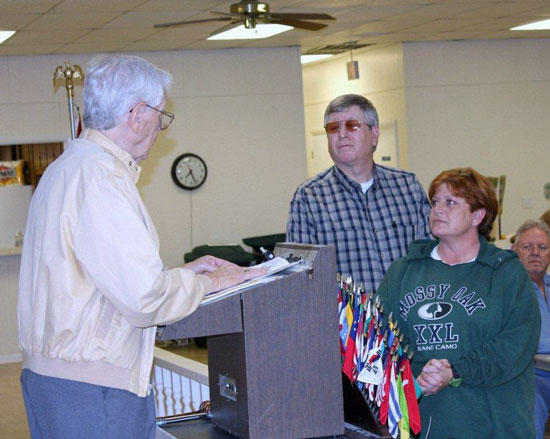 Smithson Inducted Into Woodbury Lions Club