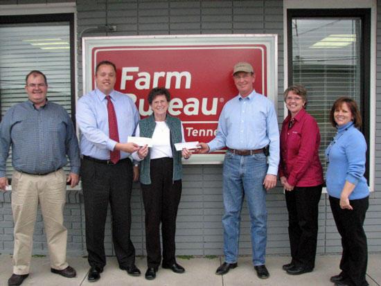 Farm Bureau Donates To Food Bank