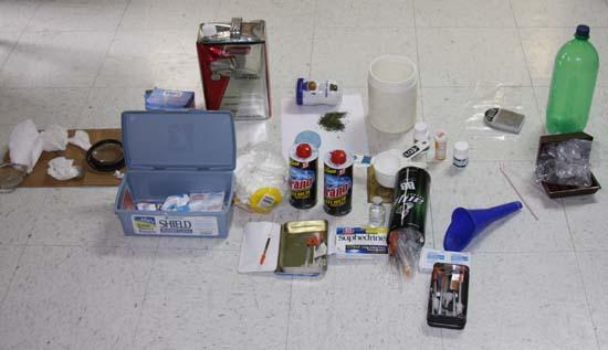 Sheriff's Department Busts Another Meth Lab