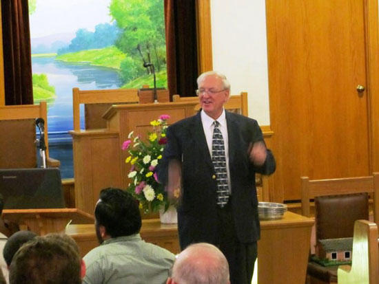 End Time Bible Seminar Continues Friday