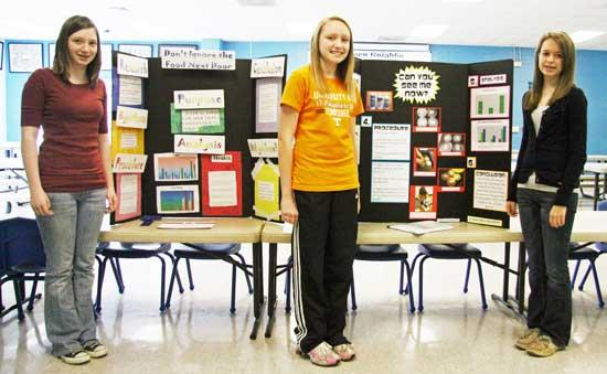 Three Auburn Students Place First At Regional Science Fair