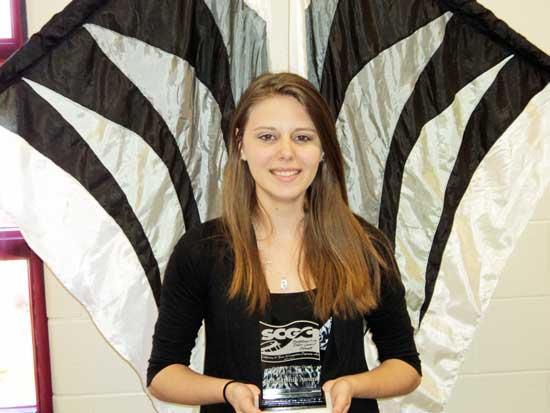 Moore Receives Winterguard Scholarship