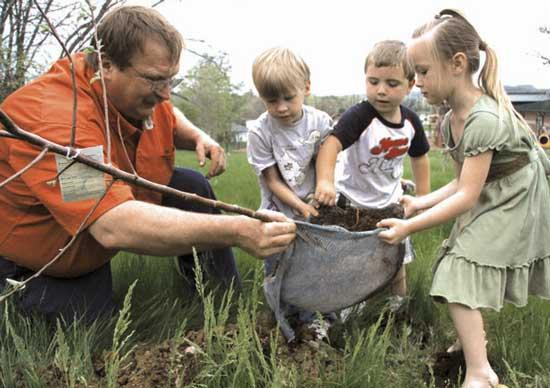 Apple Orchard Plants Seeds Of Education At WGS