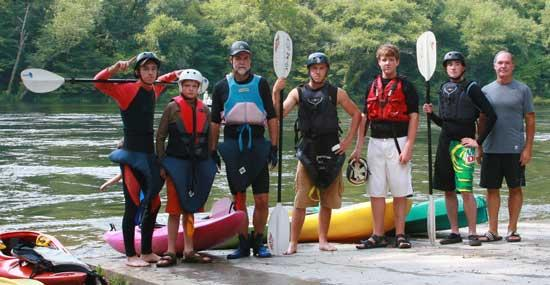 Cannon County Outdoor Club Takes Hiwassee Trip