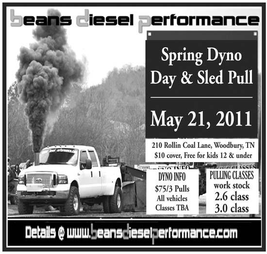Spring Dyno Day And Sled Pull May 21