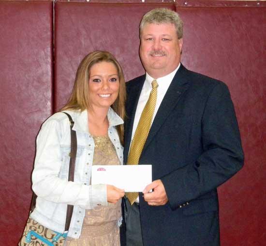 Brandon Awarded Jimmy Brandon Memorial Scholarship