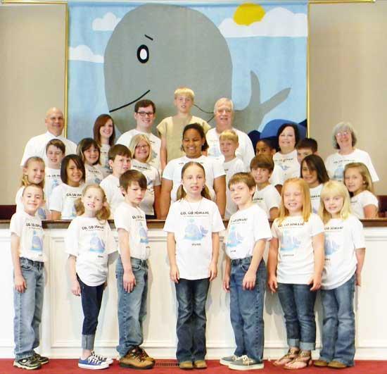Children's Choir Presents 'Go, Go Jonah!'
