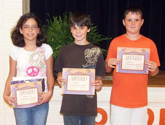 Woodland Science Fair Winners
