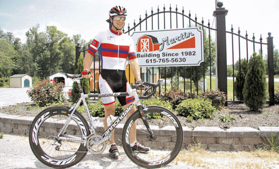 Local Cyclist Best In State