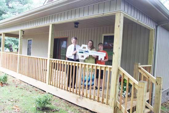 Local Family Presented Key To New Home