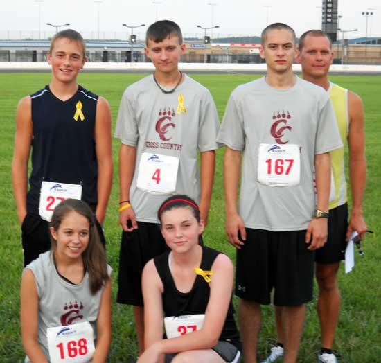 CCHS Cross Country Members Compete In Yellow Ribbon 5K
