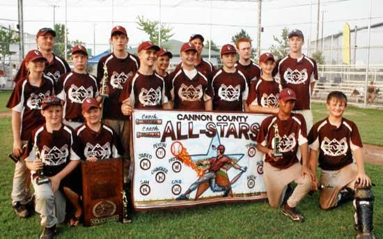 Cannon County All-Stars Win State Title