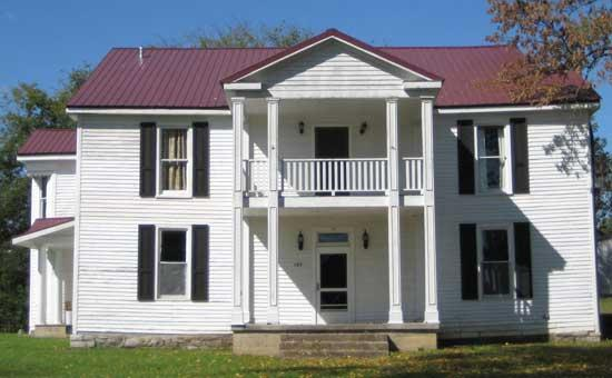 Auburntown Historical Society To Meet At McKnight House