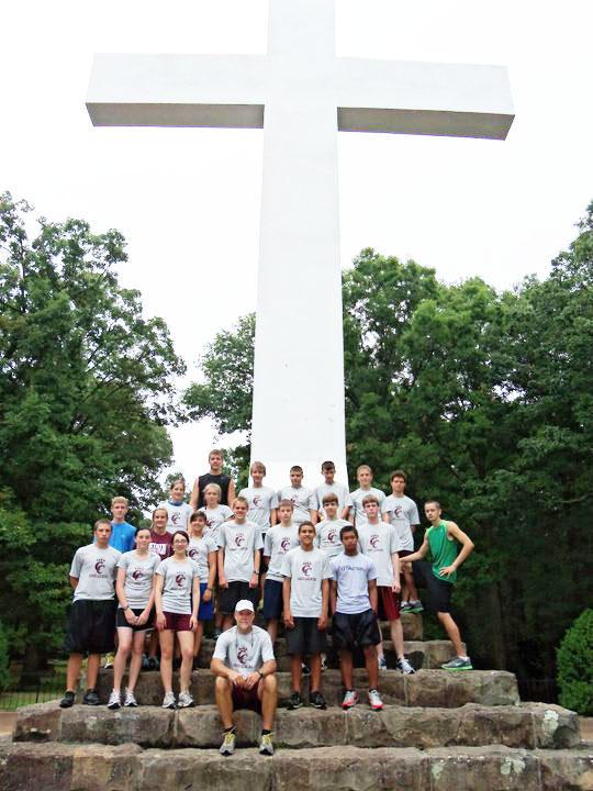 CCHS Cross Country Team Runs At Sewanee
