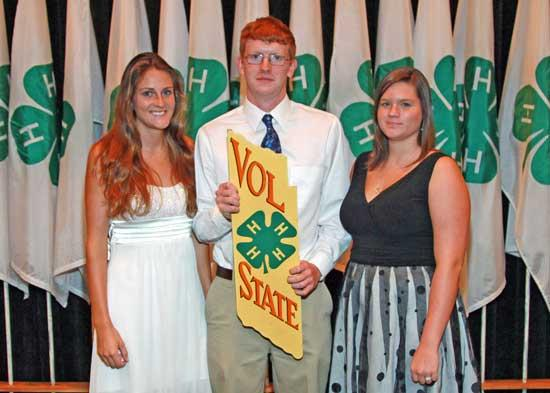Cannon County 4-H Receives Vol State Award