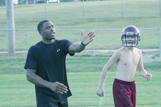 Former Raider Harris Joins CCHS Football Staff