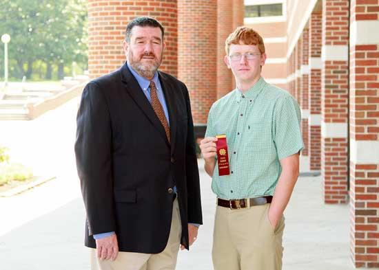 Steelman Receives Hamilton-Brown Scholarship
