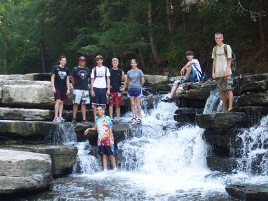 CCHS Outdoor Club Hikes Into Spring Creek Gorge