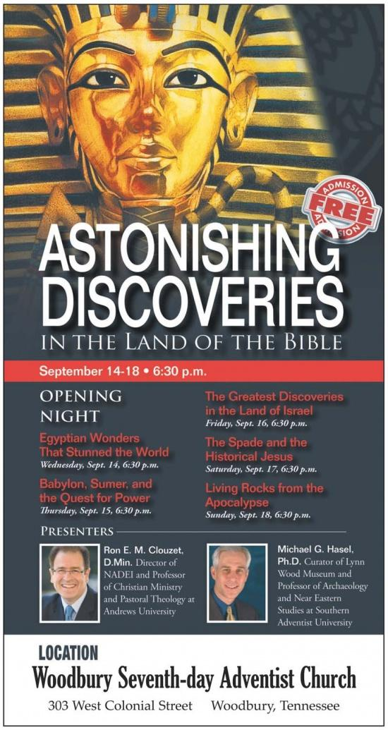 Astonishing Discoveries In The Land Of The Bible
