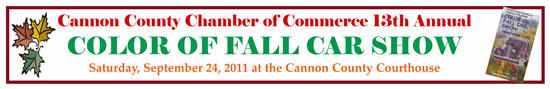 Color Of Fall Car Show Saturday